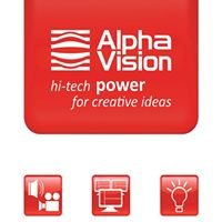 alphavision, high tech POWER  for creative ideas!