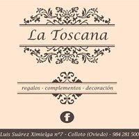 La Toscana, Decoración y complementos.