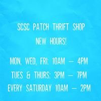 SCSC Patch Thrift Shop