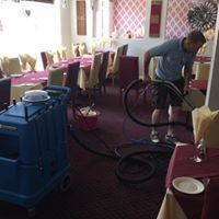 Deluxe carpet and upholstery cleaning