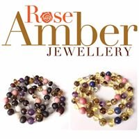 Rose Amber Jewellery