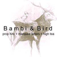 Bambi & Bird