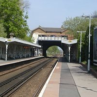 Burgess Hill railway station