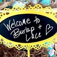Burlap + Lace
