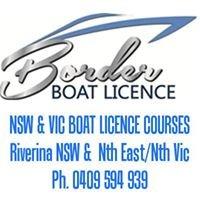 Border Boat Licence