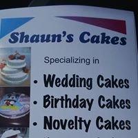 Shauns cakes