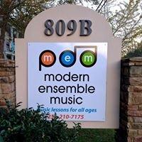 Modern Ensemble Music