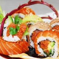 Orange sushi at Fullerton