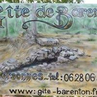 Le gîte de Barenton