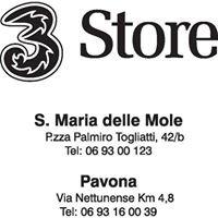 3 STORE Pavona; Santa Maria delle Mole