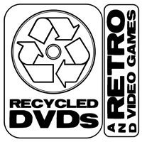 Recycled DVDs