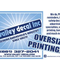 Valley Decal Inc