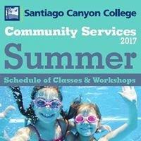 Santiago Canyon College Community Services Program