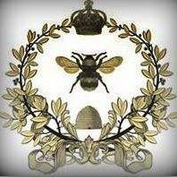 Fleur De Lis And Bumble Bees