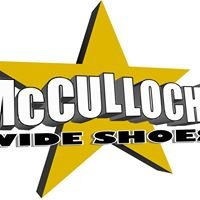 MCCULLOCH'S WIDE SHOES