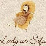 Lady at Sofa Stoffeeratelier