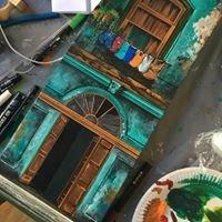 STK peinture sur toile