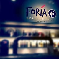 FORIA 46 - Beer and Burger