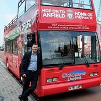 Official Liverpool FC Tour Bus