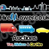 Hire4lower.co.uk van hire hire Auctions