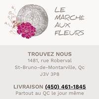Le Marché aux Fleurs, Saint-Bruno.