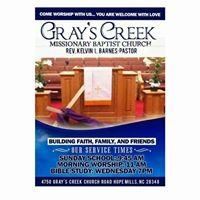 Gray's Creek Missionary Baptist Church