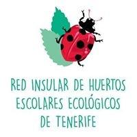 Red Insular de Huertos Escolares Ecológicos. Cabildo de Tenerife