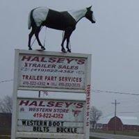 Halsey's Trailers Sales & Western Store