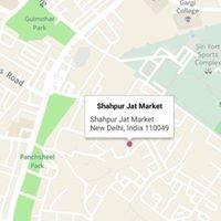 Shahpur Jat Market