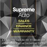 Supreme Auto Sales Ltd
