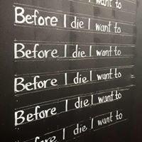 Before I die wall - Burleson