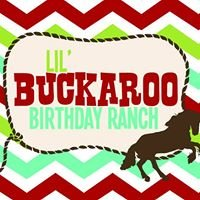 Lil' Buckaroo Birthday Ranch