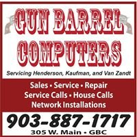 Gun Barrel Computers