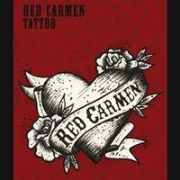 Red Carmen tattoo