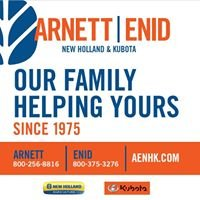 Arnett & Enid New Holland