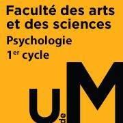 Département de psychologie - 1er cycle UdeM