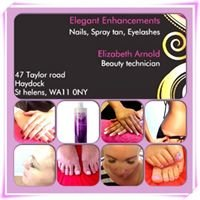 Elegant Enhancements Nails-Spray Tan