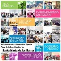 Plan de Alfabetización Tecnológica de Extremadura - Santa Marta