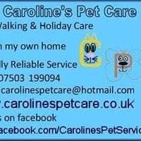 Caroline's Pet Care