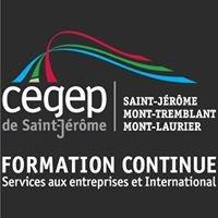 Formation continue,Services aux entreprises,International - Cégep St-Jérôme