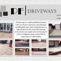 PF driveways