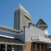 Seaport Village - shops, & restraunts. Bay front