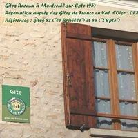 Gîtes ruraux à Montreuil sur Epte - 95
