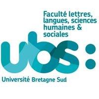 Faculté lettres, langues, sciences humaines & sociales - UBS
