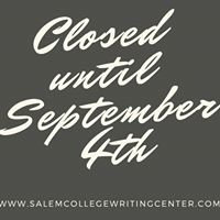 Salem College Writing Center