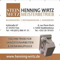 Steinmetz Henning WIRTZ, Meisterbetrieb