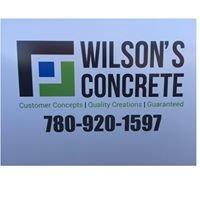 Wilson's Concrete