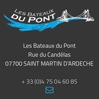"""Descente des Gorges de l'Ardèche """"Les Bateaux du Pont"""""""