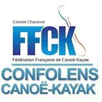 Base canoe Confolens / Les Roches Bleues