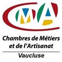 Chambre de Métiers et de l'Artisanat de Vaucluse.